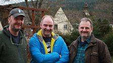 Mark, Steve Westwood & Phil Hayday-Brown