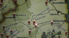 Border Reiver Family Map
