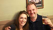 Mark with Emily Smith