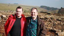 Mark with Andrew Birley