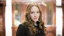Charlotte Spencer plays Ellie Murston, the love of Stewart Gilmour's life