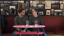 Stewart (Christian Cooke) and Ferg (Chris Fulton) – a friendship that stands the test of time