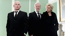 Gary Lewis plays Mike McAvett, Peter Mullan plays Don Murston and Sharon Small his wife, Connie Murston