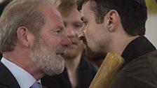 Peter Mullan plays Don Murston, Kevin Mains his son, Fraser Murston