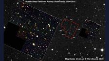 Hubble Deep Field by Dave Grennan