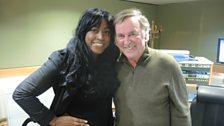 Sir Terry Wogan and guest Mica Paris