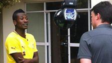Asamoah Gyan at Afcon