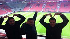 Strike a pose - The (Mo Farah) MoBot: Bayer Leverkusen style!