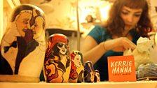 Kerrie Hanna - artist in residence
