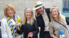 Jo With Will Young, Kellie Maloney and Anna Webb