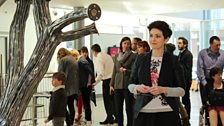 Marie-Louise Muir at BSA Degree Show