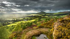 Roseberry Topping from Gribdale near Great Ayton