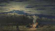 Richard Dadd, The Artist's Halt in the Desert (c.1845)