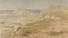 Richard Dadd, View of the Island of Rhodes (c.1845)