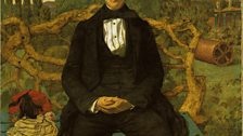 Richard Dadd, Portrait of a Young Man (1853)