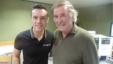 Nathan Carter with Sir Terry