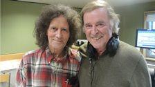 Gilbert O'Sullivan with Sir Terry
