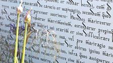 Magna Carta 800 Garden. Designed by Frederic Whyte