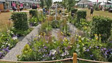 Unique: The Rare Chromosome Disorder Garden. Designed by Catherine Chenery and Barbara Harfleet