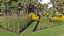 The World Vision Garden. Designed by John Warland