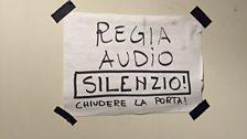 Silence please - recording in progress!