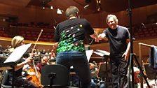 Aida recording session with Antonio Pappano