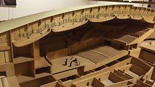 Model of the Sala Santa Cecilia concert hall