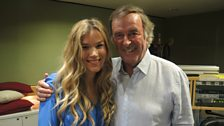 Sir Terry Wogan and guest Joss Stone