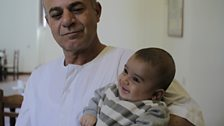 Hajj Ahmed and his grandson