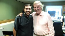 Andrea Faustini and Terry Wogan