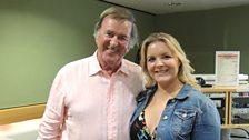 Terry Wogan and Rebeca Newman