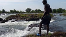 Crocodiles, hippos and elephants steer clear of the edge of Victoria Falls, making these pools near the lip safer for fishing