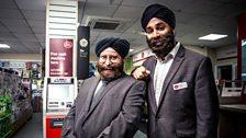 Mr Sadana Snr & Mr Sadana Jnr