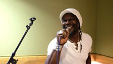 Levi Roots in Session