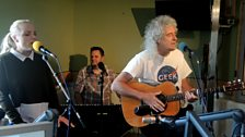 Brian May & Kerry Ellis in Session