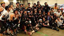 The Deaf Rage roller derby team
