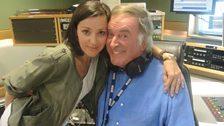Tina Arena with Sir Terry