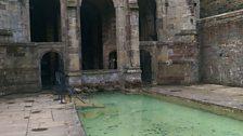 St Winefride's Well bathing pool.