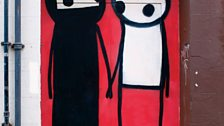 Stik - A Couple Hold Hands in the Street