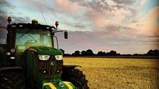 Yorkshire farm harvest; Courtesy of Oliver Robinson