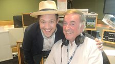 Will Young with Sir Terry