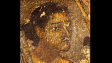 The King of Varanasi's Hunting Expedition, cave paintings of Ajanta (Maharashtra State), 1st Century BC