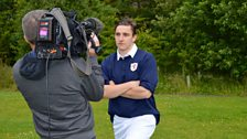 Aaron Connolly playing Jim Baxter during his spell at Raith Rovers