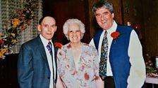 Jim's parents, Ag & Rab were immensely proud of his footballing achievements