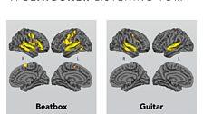 A beatboxer's brain lights up...