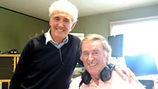 Tony Christie poses with Terry Wogan