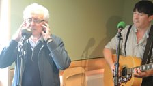 Tony Christie performs for Weekend Wogan