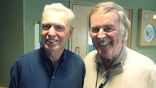 Georgie Fame poses with Sir Terry Wogan