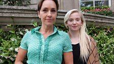 Juliet Aubrey and Sophie Melville