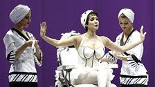 Hasmik Torosyan as Lisetta in La gazzetta from the Rossini Opera Festival, Pesaro